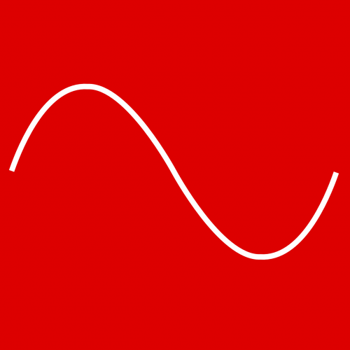frequency sine red
