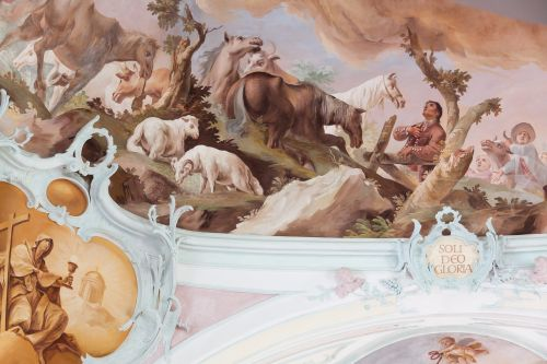 fresco ceiling painting christian