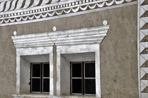 frescoes style alpejko architecture