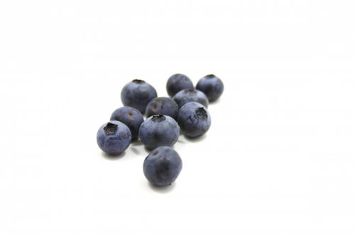 Fresh And Sweet Blueberries