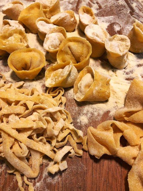 fresh pasta  egg pasta  homemade pasta