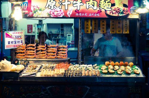 fresh seafood sell at night market fresh market seafood
