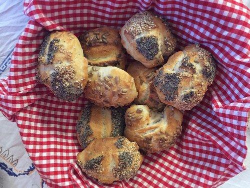 fresh weckerl  roll  bake itself