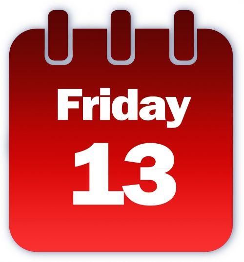 friday calendar superstition