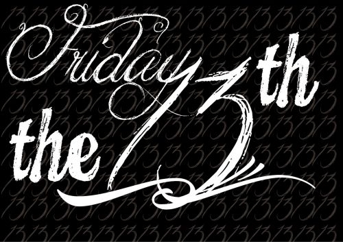friday the 13th wordpress typography