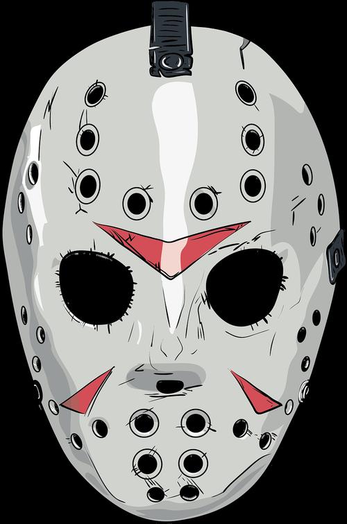 friday13th  mask  art