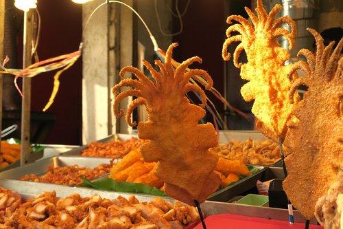 fried  deep-fried  squid