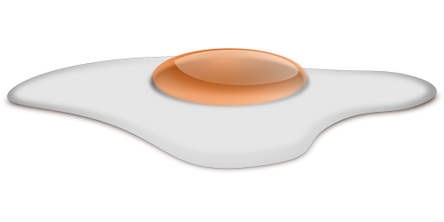 fried egg egg sunny side up overeasy