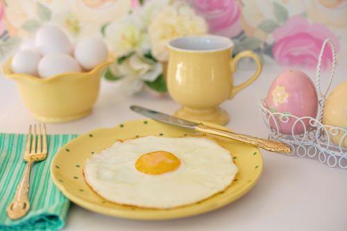 fried egg breakfast easter