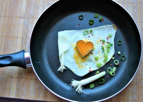 fried egg tasty fried