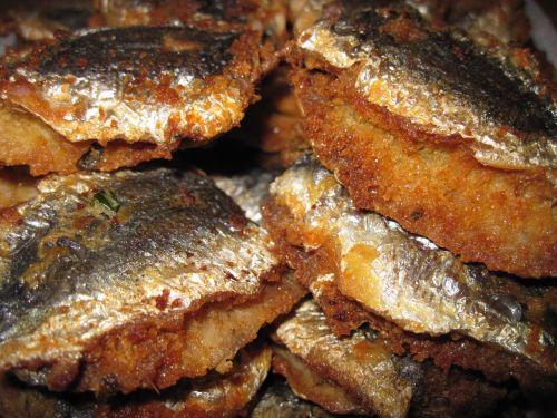 fried fish fried sardines sardines