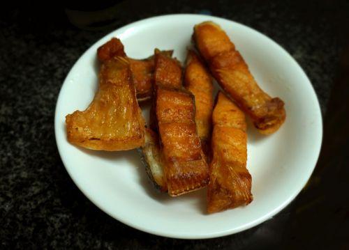 fried fish the dish dried fish fried