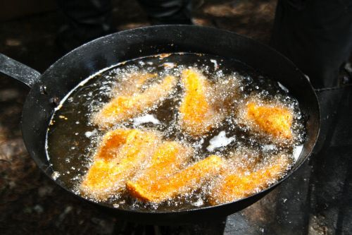 fried fish walleye shore lunch