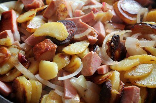 fried potatoes fry potatoes