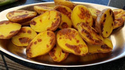 fried potatoes  food