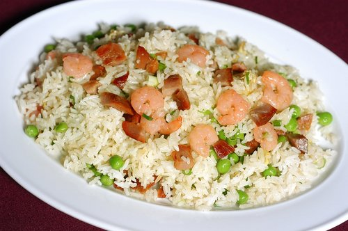 fried rice  chinese  asian