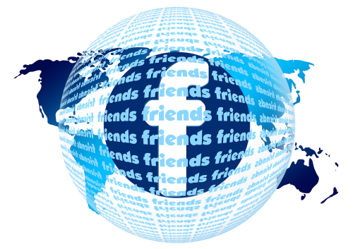 friends continents facebook
