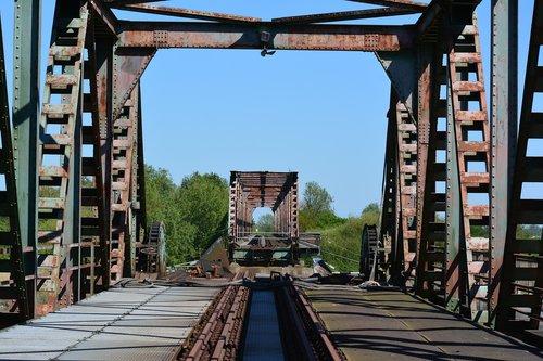 fries bridge  weener  railway bridge