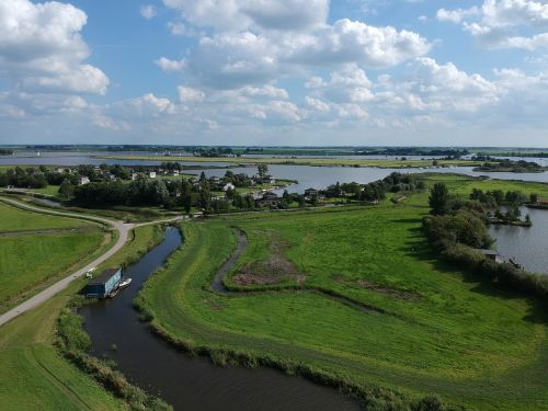 friesland drone airphoto