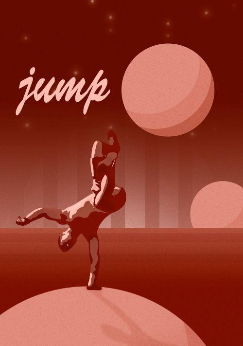 frieze brakedance jump