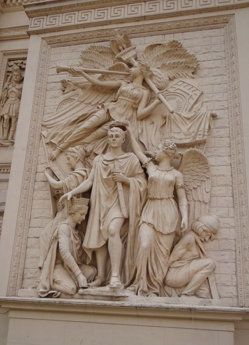 frieze bas-relief relief