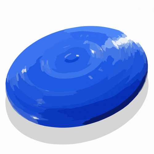 frisbee flying saucer circle