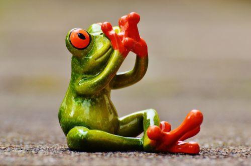 frog figure do not speak