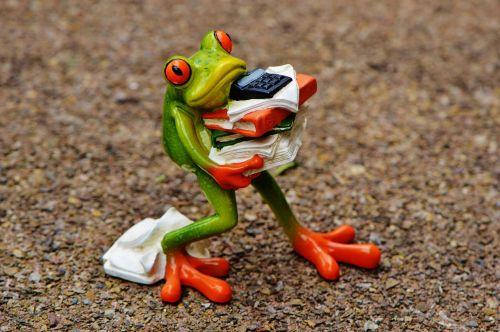 frog figure files