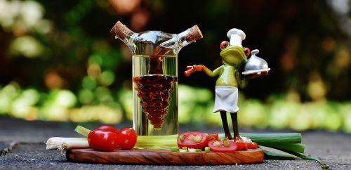 frog cooking vinegar