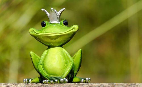 frog figure king