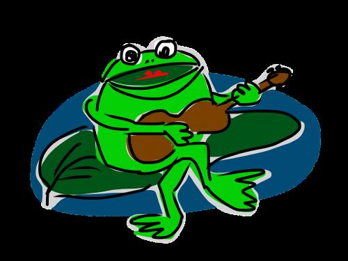 frog guitar music