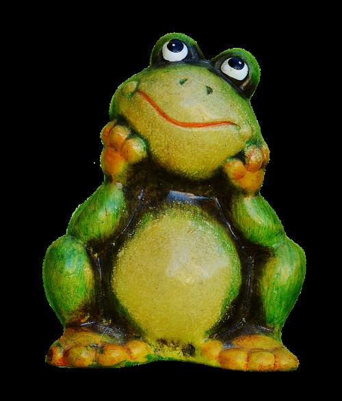 frog figure funny