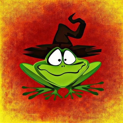 frog hat halloween