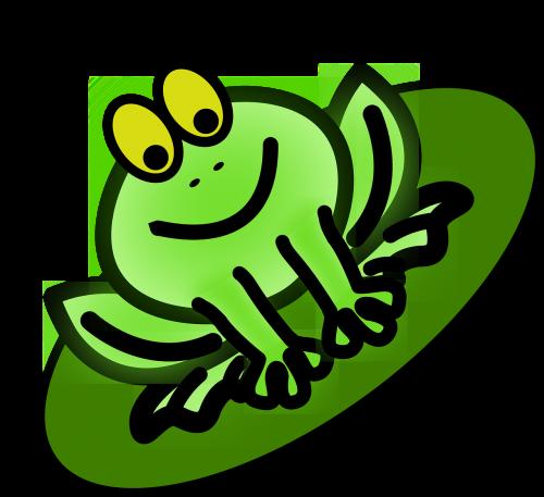 frog king frog amphibian
