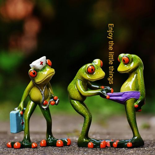 frogs enjoy the little things funny