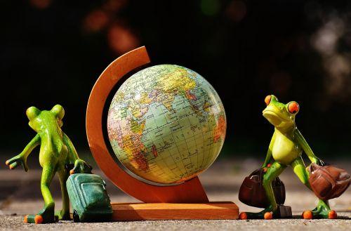 frogs travel go away