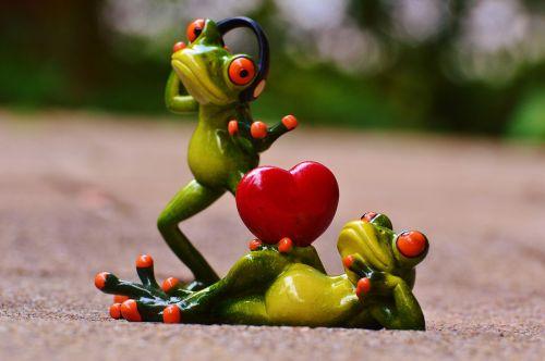 frogs love headphones