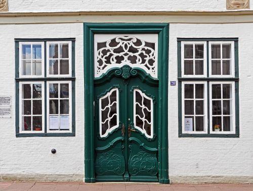 front door input north german