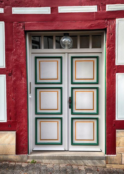 front door wood old