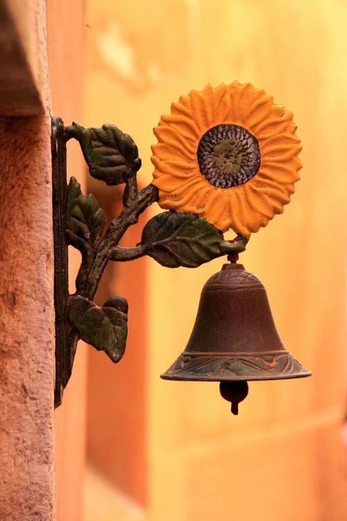 front door bell bell bronze