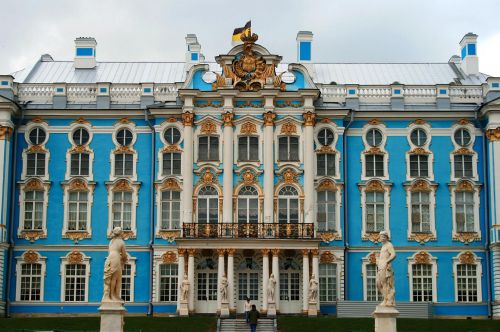 Front Of Grand Palace,  Russia