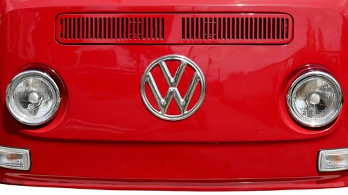 frontal  front  vw bus t2