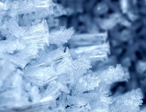 frost ripe hoarfrost
