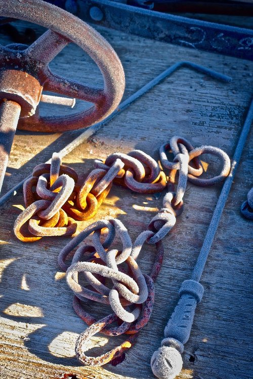 frost  iron  chain