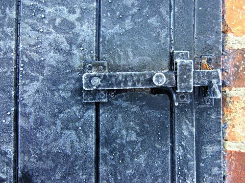 frost icy lock