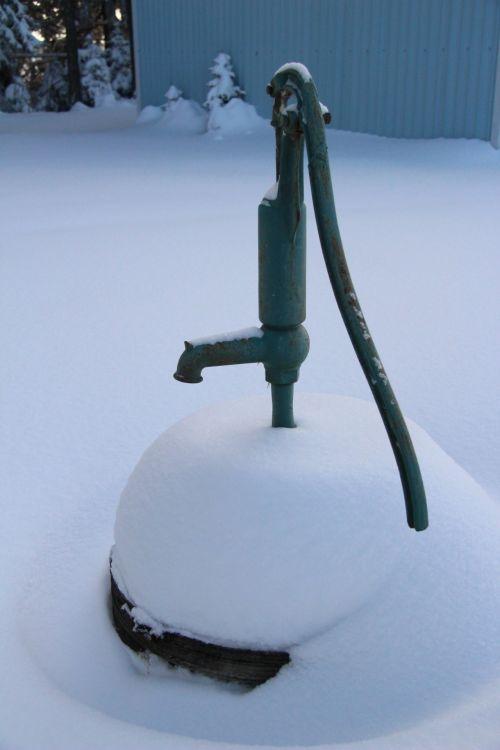 Frozen Water Pump