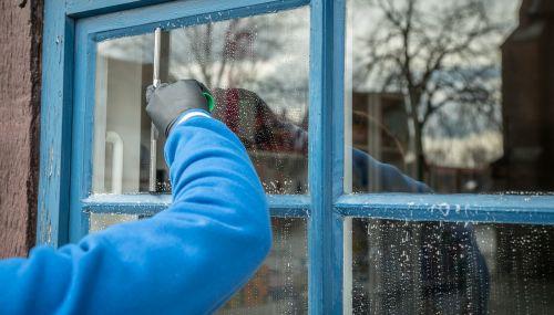 frühjahrsputz service window cleaning