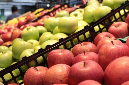 fruit supermarket apple