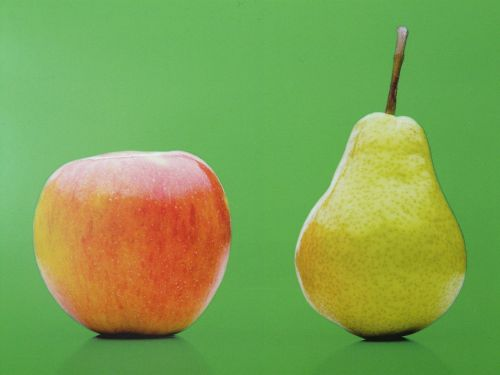 fruit apple pear