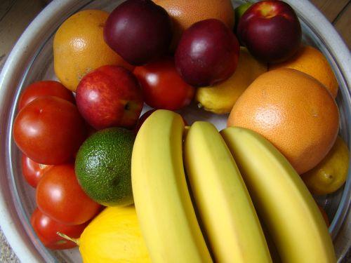 fruit bright bowl